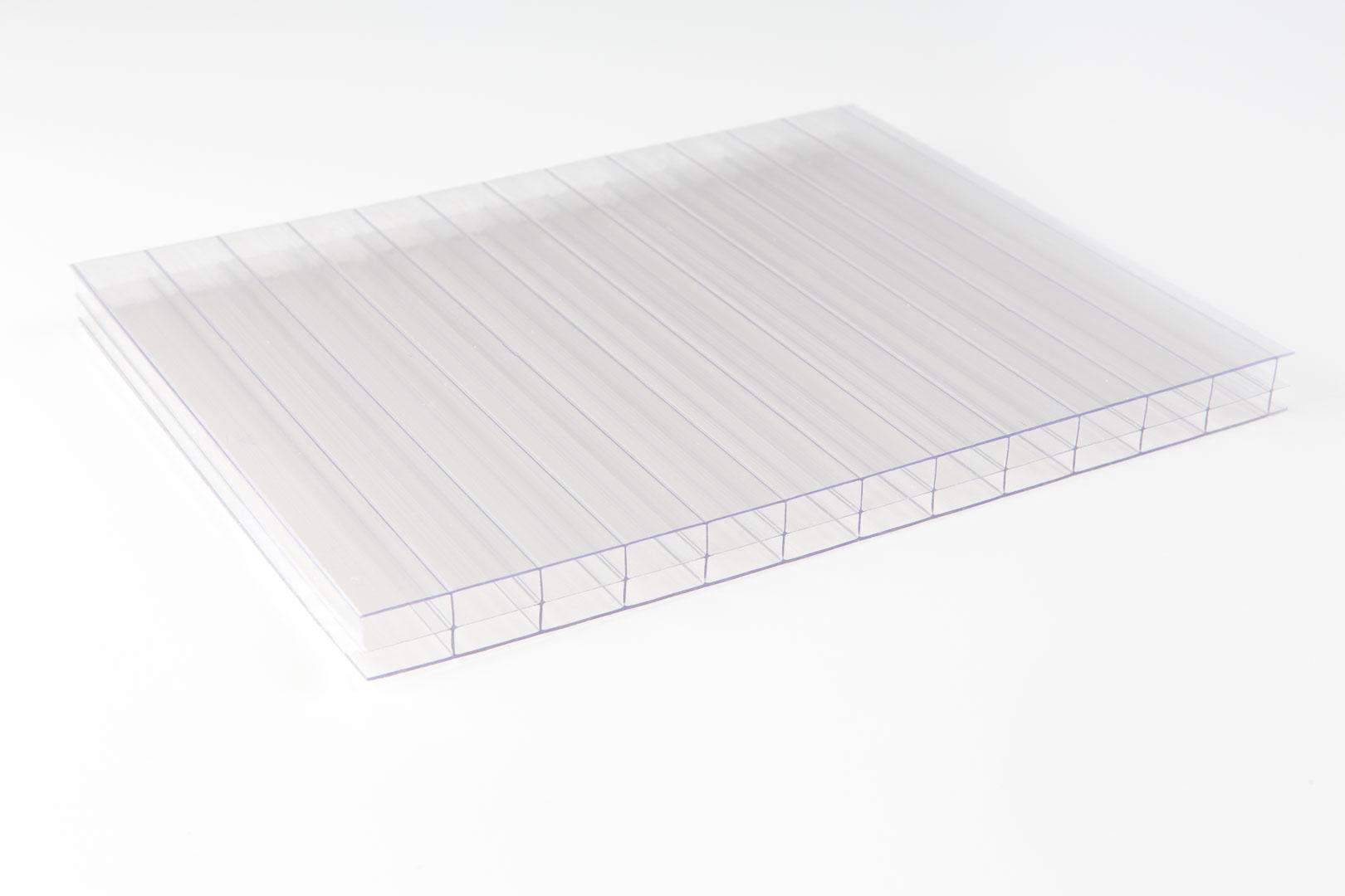makrolon multi uv 3 16 20 stegplatte klar doppel. Black Bedroom Furniture Sets. Home Design Ideas
