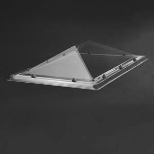 Pyramidenförmige Lichtkuppel
