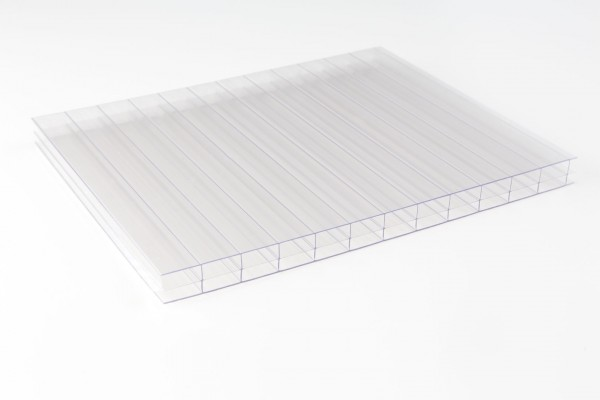 Makrolon® multi UV 3/16-20 Stegplatte klar liegend