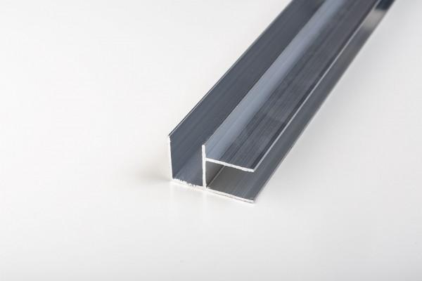 Aluminium Eck-Profil blank