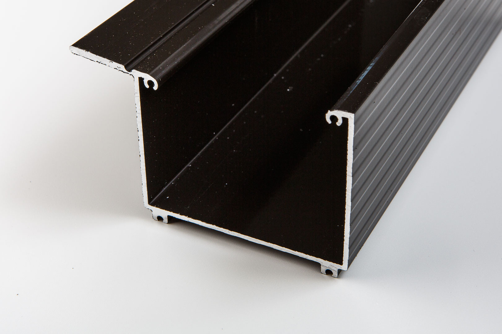 Aluminium Kastenrinne braun inkl. Zubehör