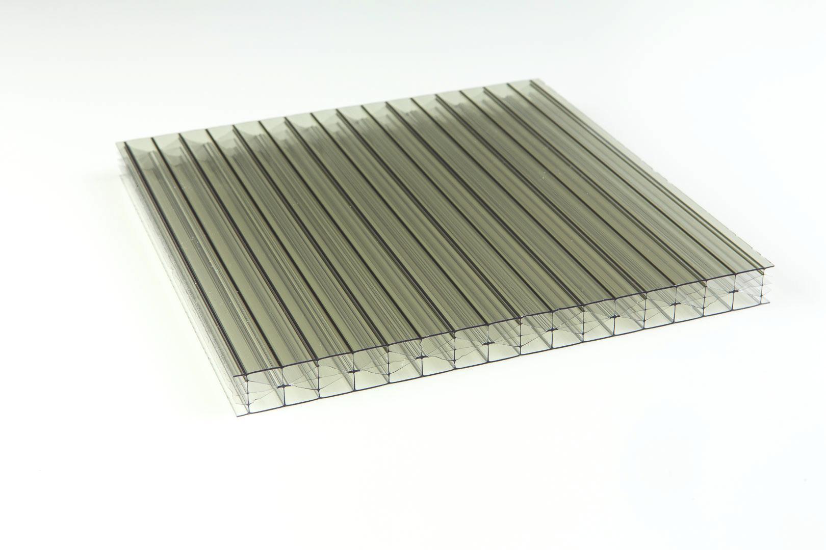 Polycarbonat 16mm Heatblock Primalite klar