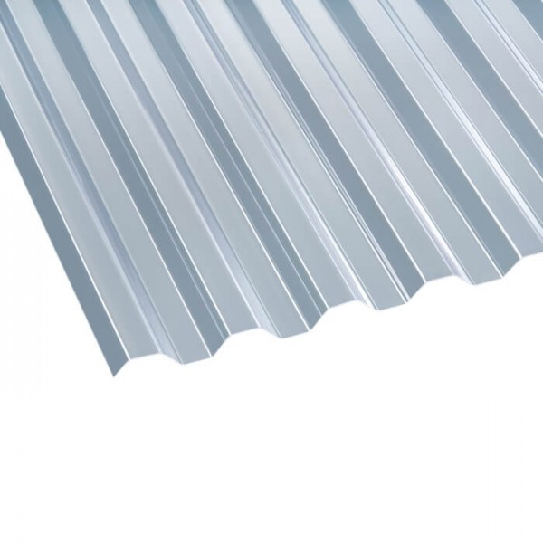 PVC Profilplatte Trapez 70/18 klar liegen