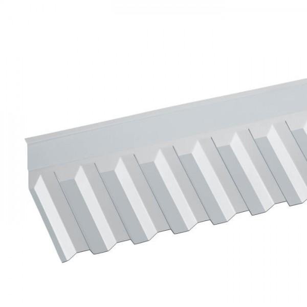 PVC Wandanschluss Trapez 70/18 liegend