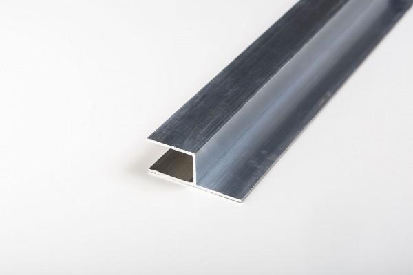 Aluminium h-Profil blank