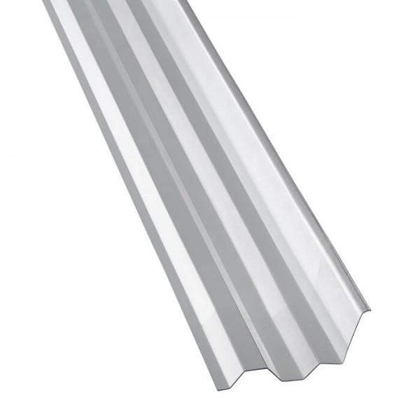 PVC Maueranschluss Trapez 70/18 liegend
