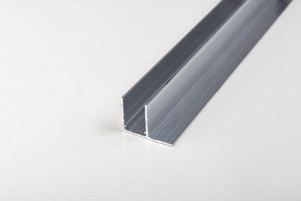 Aluminium F-Profil blank