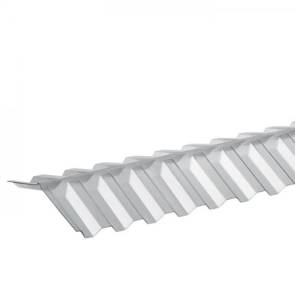 PVC Wellfirsthaube Trapez 70/18 liegend