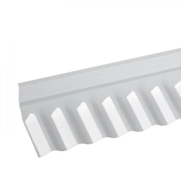 PVC Wandanschluss Sinus 76/18 liegend