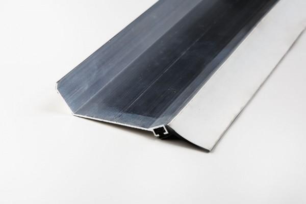 Aluminium Wandanschlußprofil